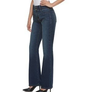 Apt. 9 Jeans - Gray Mid-Rise tummy support jeans